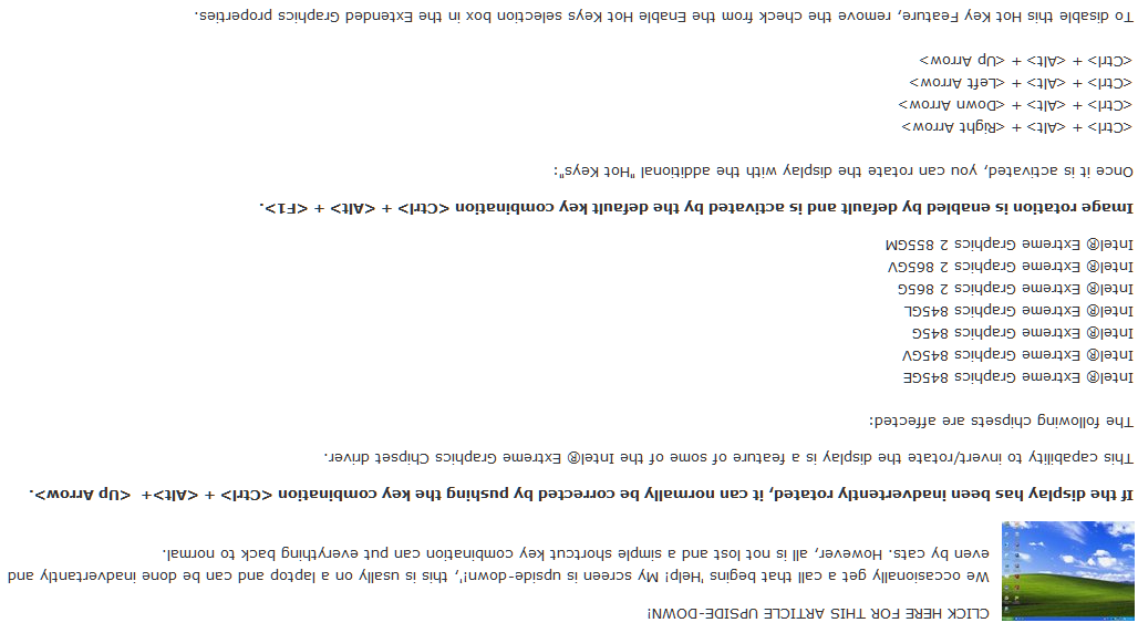 Help! My Screen is Upside Down! - Shortcut Keys to Fix | runPCrun